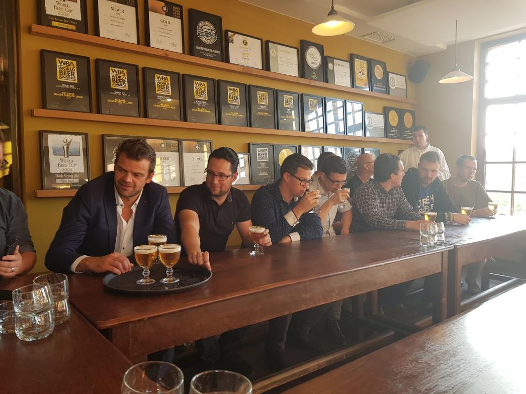JIDOKA beer tasting