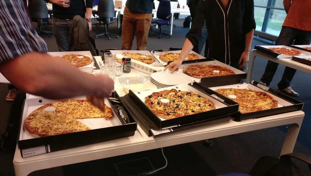 JIDOKA pizza night