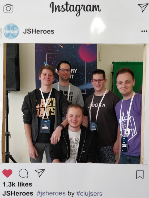 Instagram JSHeroes