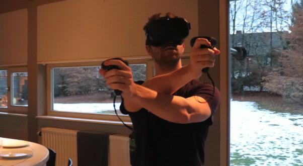 De Oculus Quest VR-headset