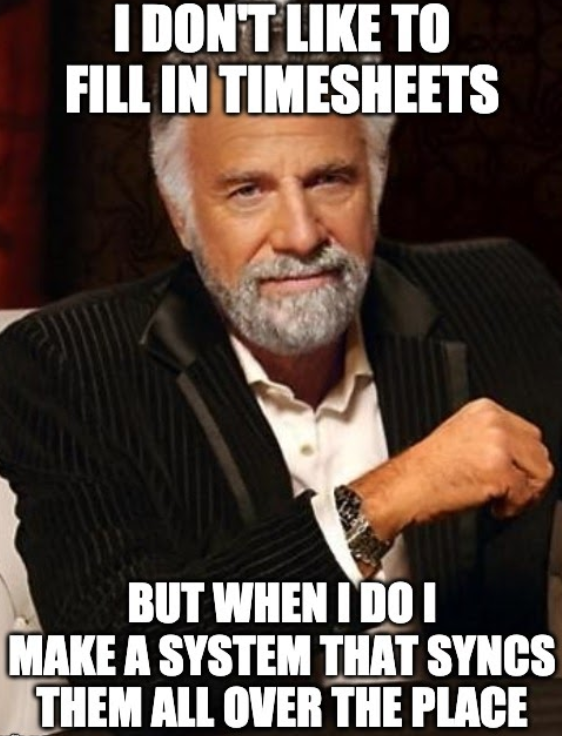 meme timesheets
