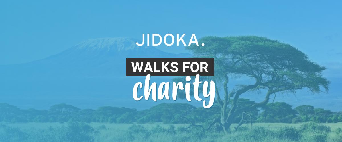 Jidoka walks for charity