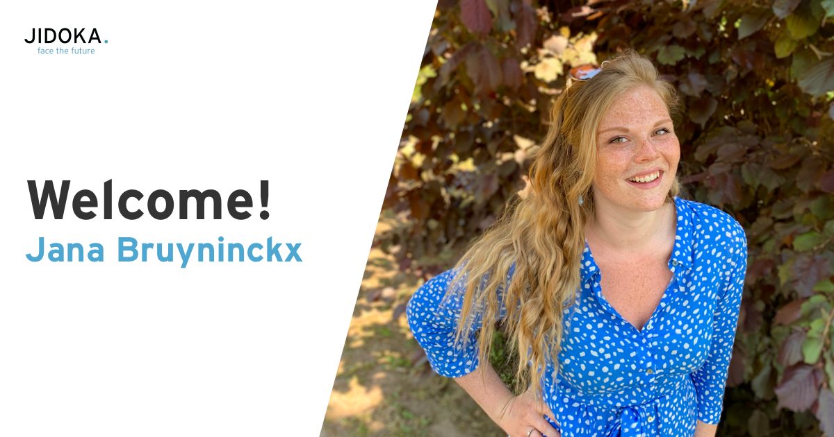 Welcome Jana Bruyninckx
